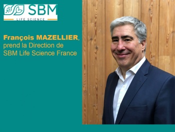 SBM LIFE SCIENCE FRANCE : François Mazellier prend la direction de la filiale France