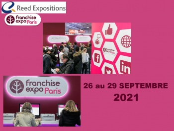 Franchise Expo Paris aura lieu en septembre en 2021 !