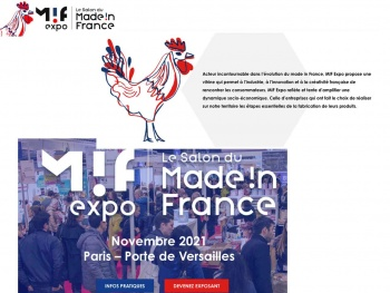 Le Salon du Made in France propose le premier catalogue interactif de produits exclusivement fabriqués en France