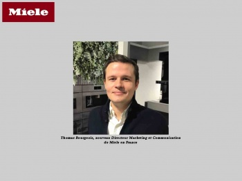Thomas Bourgeois est nommé Directeur Marketing et Communication de Miele en France