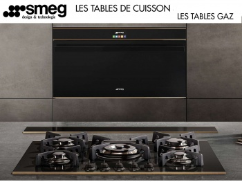 SMEG : Des tables de cuisson qui allient design et technologie